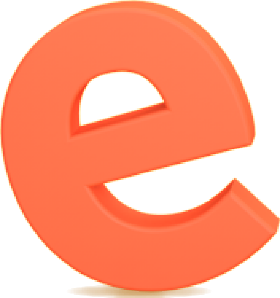 e字母字体设计立体英文