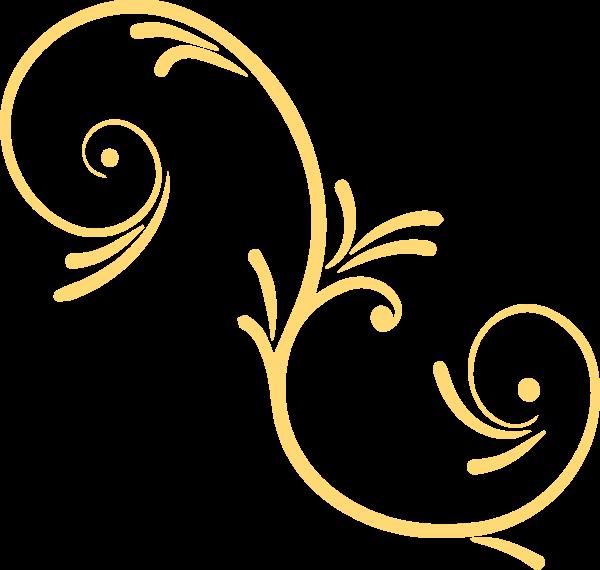 花纹装饰黄色花卉边框