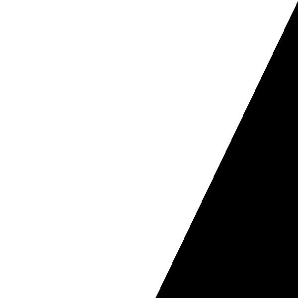 一个只有一半的白色矩形面