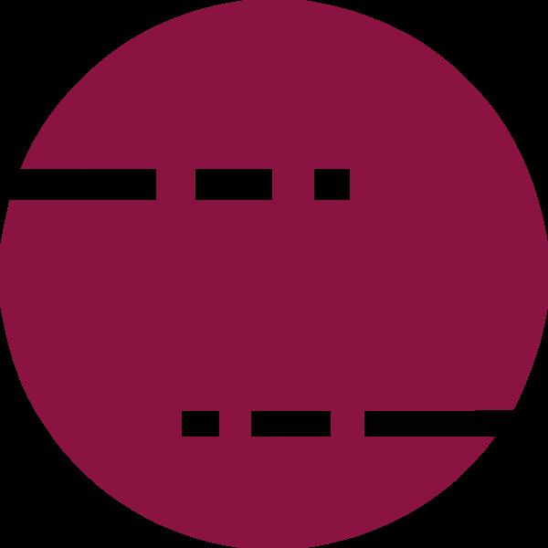 圆形圆太阳创意几何