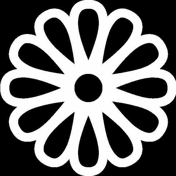 花朵花卉花白色标识