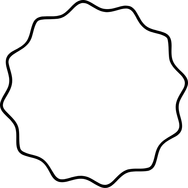 框边框圆形圆几何