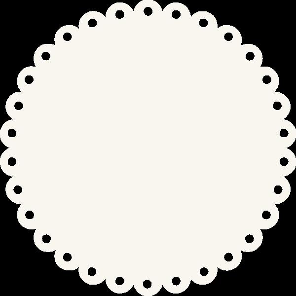 圆形圆几何杯垫底板