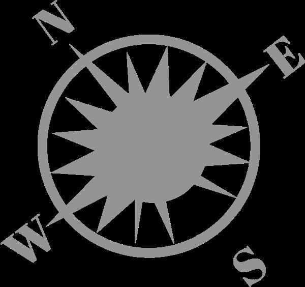 指南针工具图标标识基本