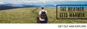绿色简约夏日旅游封面图