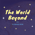 紫色卡通夜色主题海报