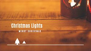 黄色圣诞主题封面