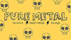 黄色卡通金属音乐缩略图