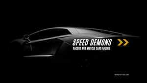 黑色赛车摄影封面