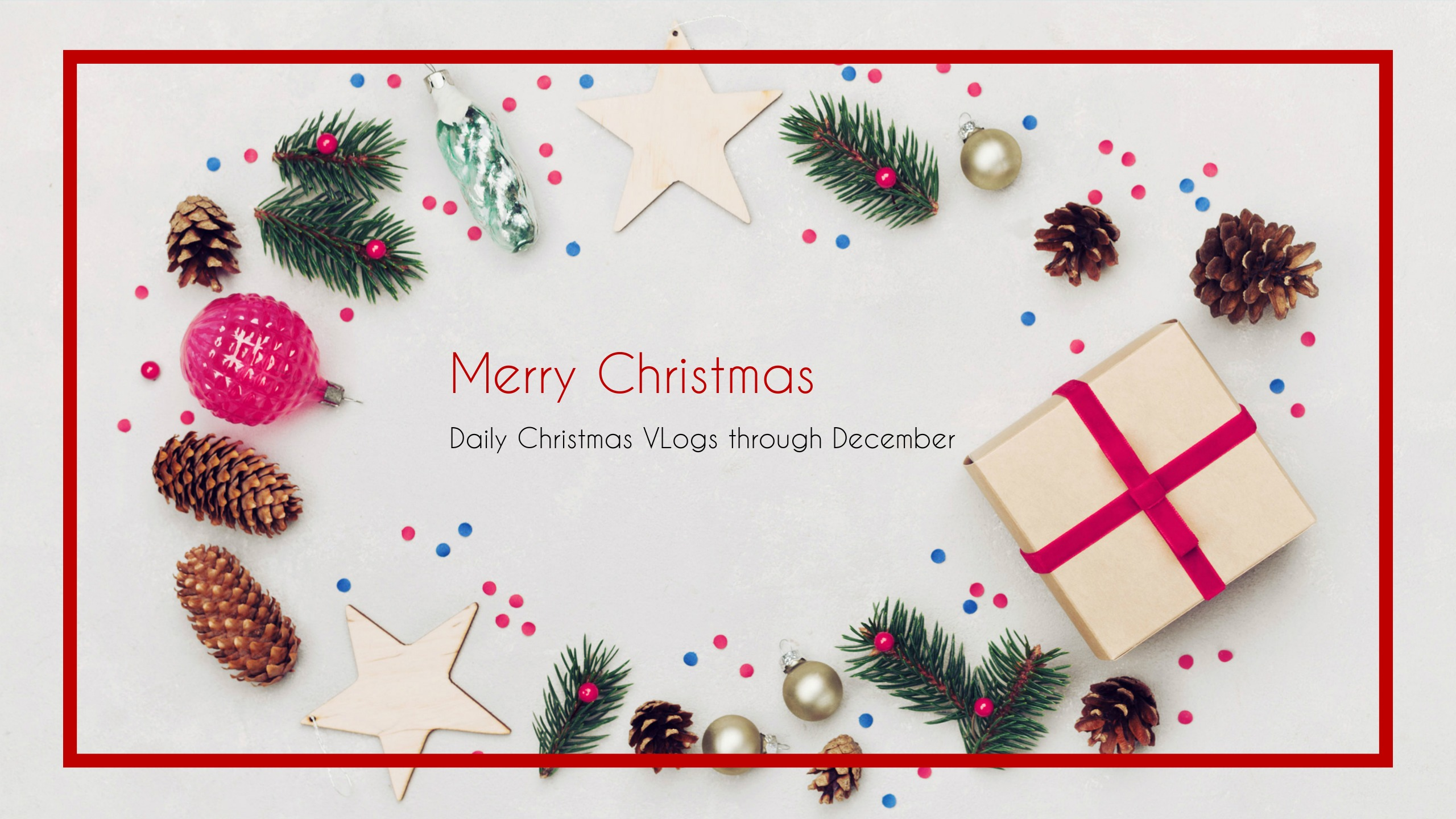 白色圣诞主题封面