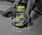 灰色创意时尚主题海报