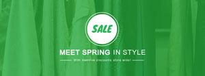 绿色春季主题封面