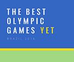 蓝色简约奥运会主题海报